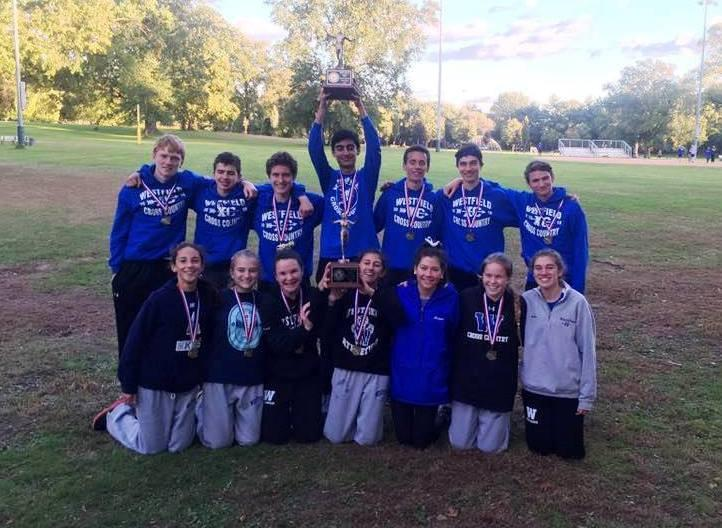 Boys and Girls Both Win Union County Cross Country Championships