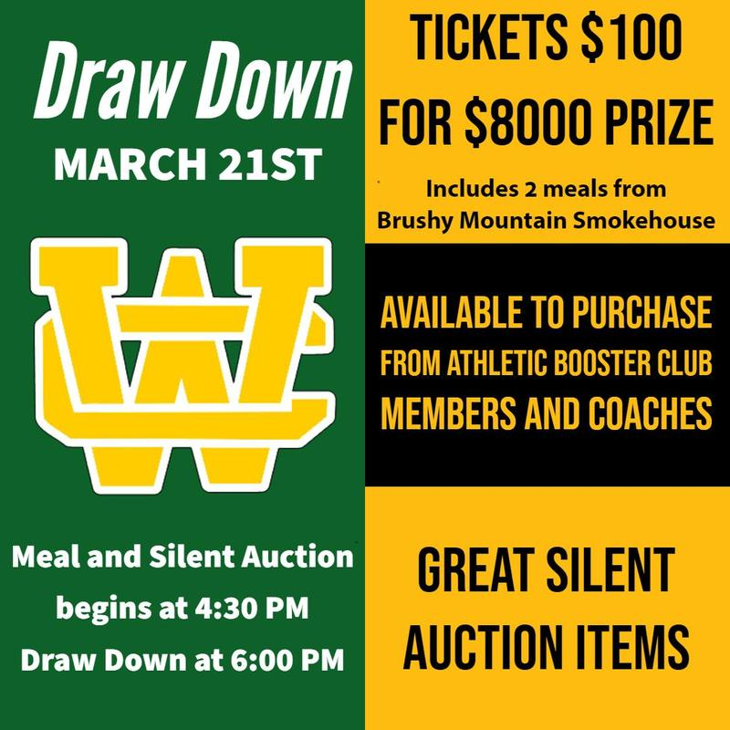 Athletic Booster Club Draw Down Thumbnail Image
