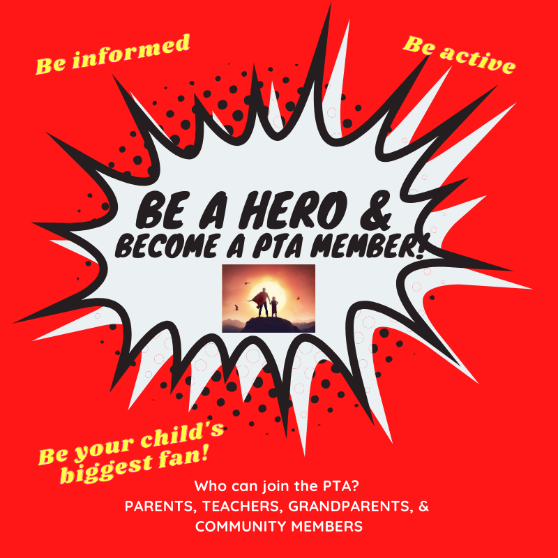 Be a Hero and Join PTA! Featured Photo