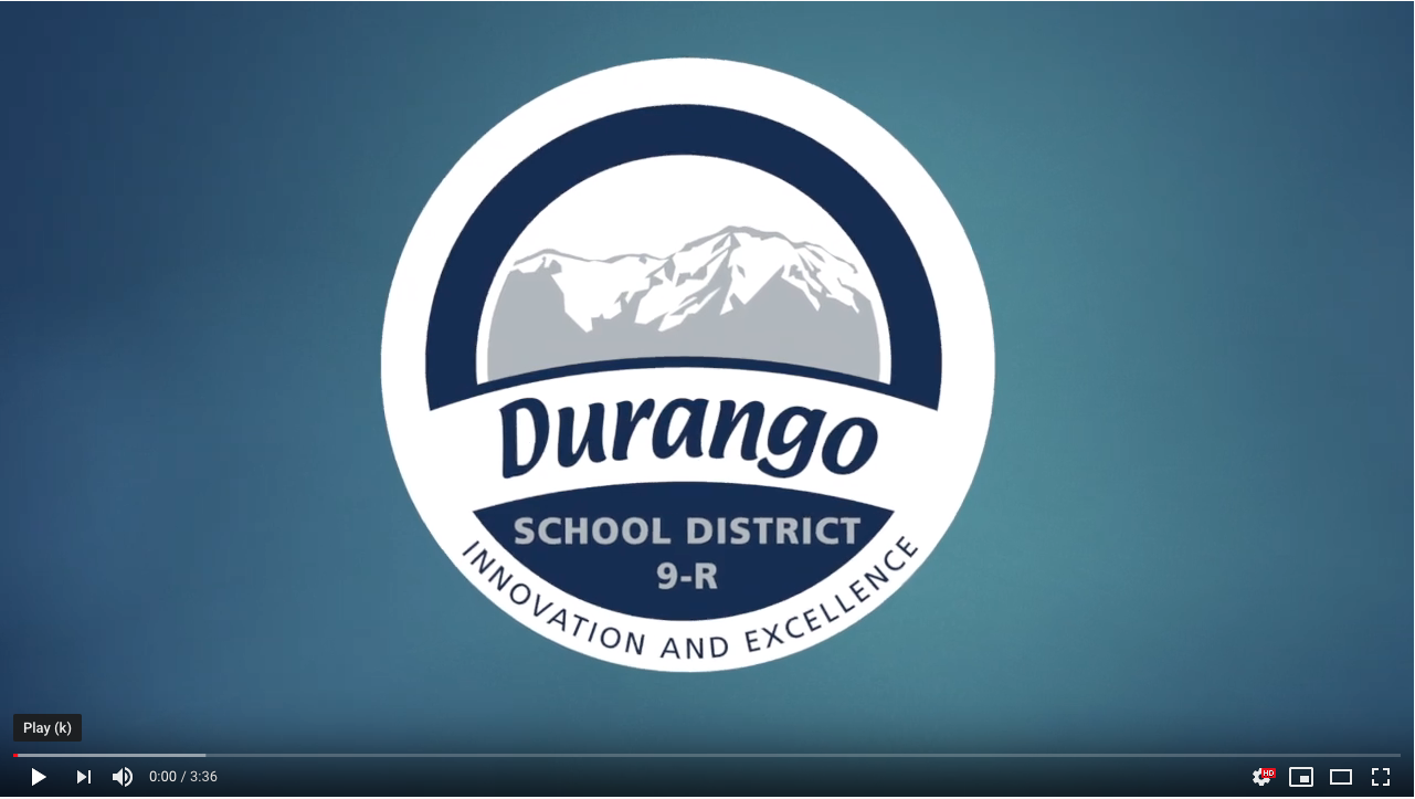 Video message from Superintendent Dan Snowberger