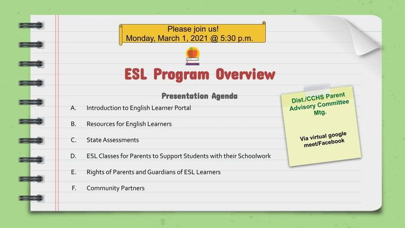 Join us to learn about the Benefits of the ESL Program Featured Photo
