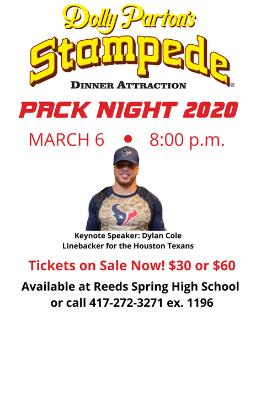 pack night flyer
