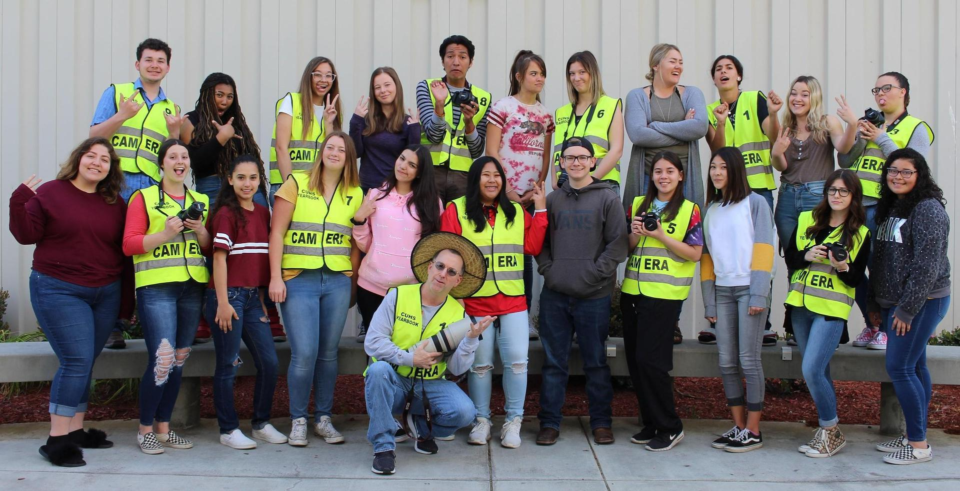 2018-2019 Yearbook Staff