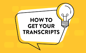 Need a Transcript? Featured Photo