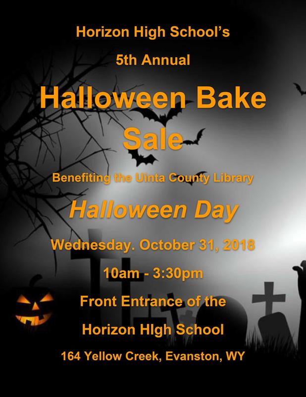 HHS Halloween Bake Sale
