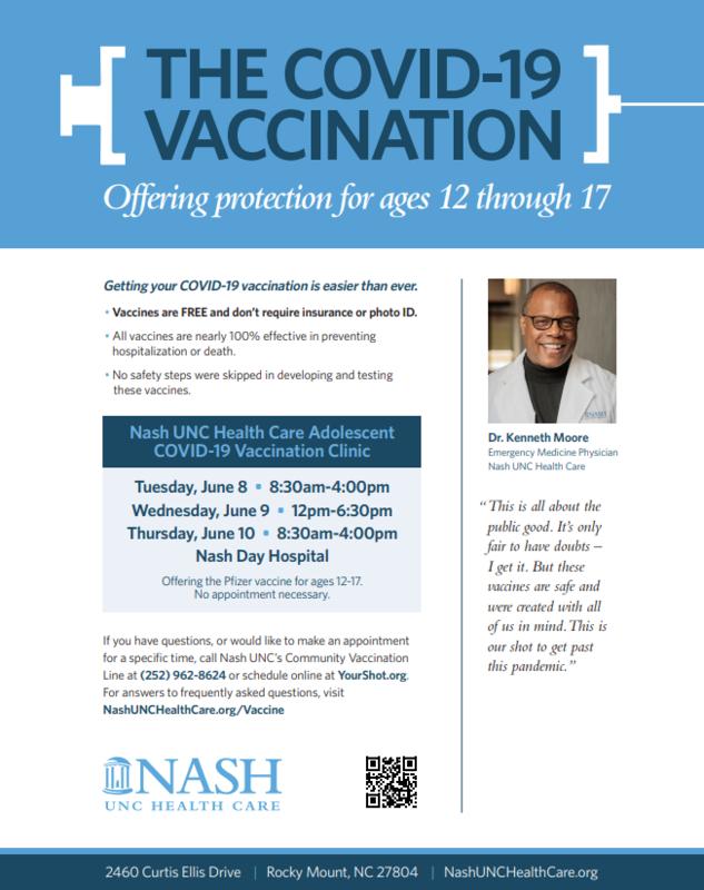 Adolescent Vaccination Clinic