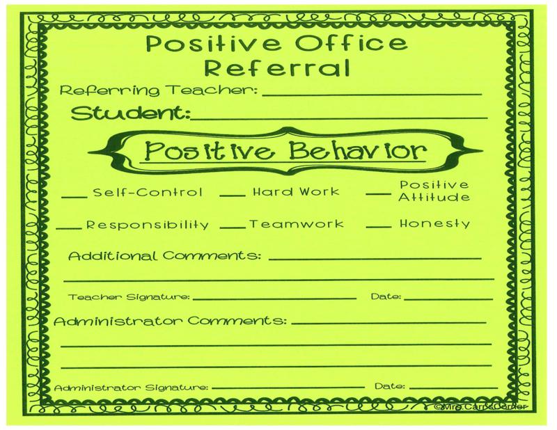 Positive Office Referrals                                                                                           Referencias positivas a la oficina Thumbnail Image