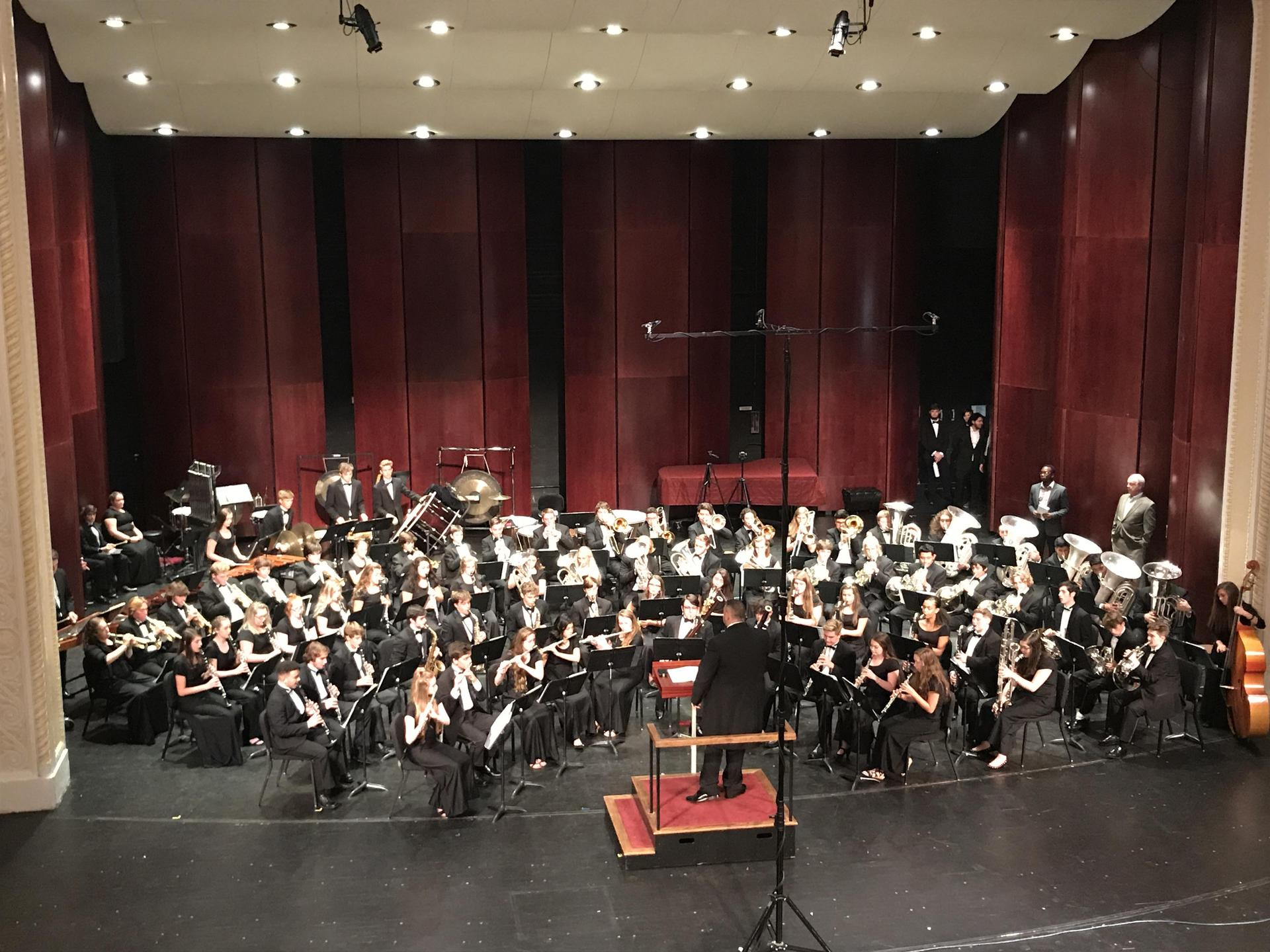 UNCG Symphonic Band & CDHS Wind Ensemble