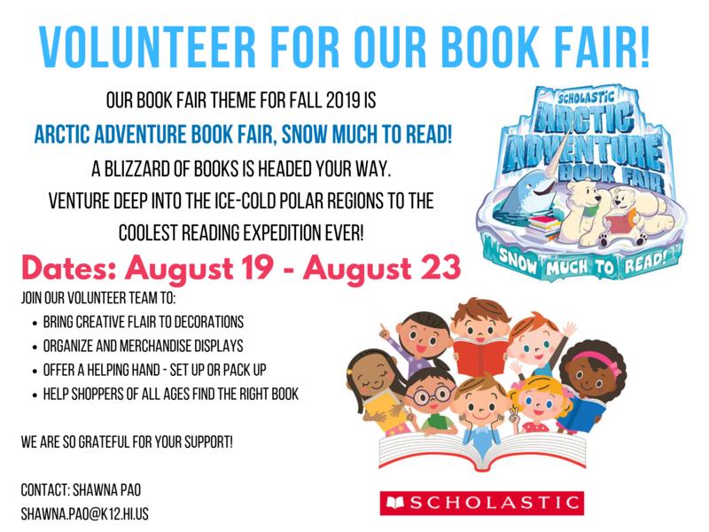 Book Fair Volunteers Featured Photo