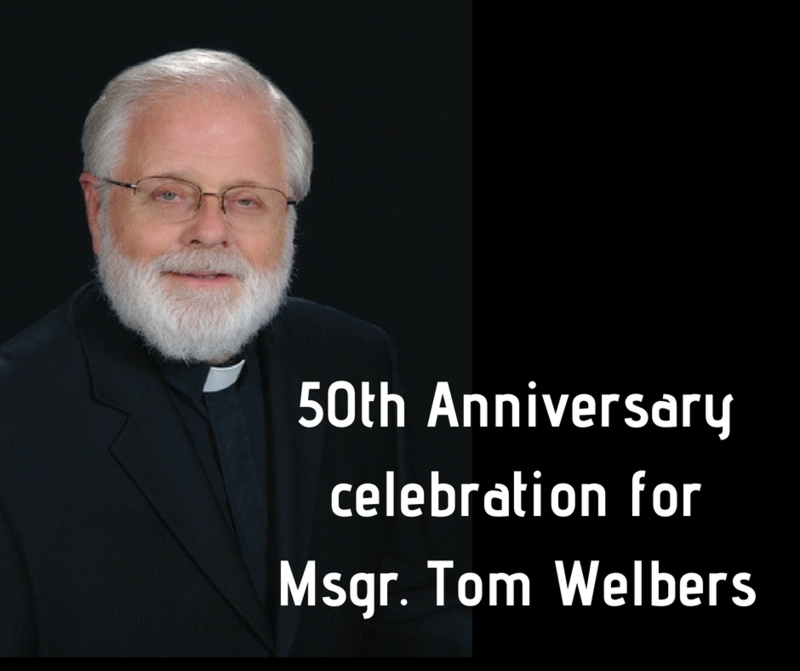 Celebrate Father Tom July 22 Thumbnail Image