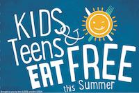 Flyer for Summer Meals Program