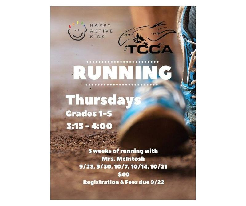 Fall Running Program for Grades 1-5! Featured Photo