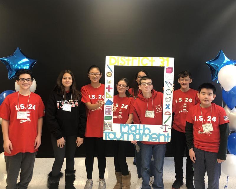 I.S.24 2020 Math Team