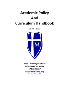 Picture of the Academic Handbook Cover