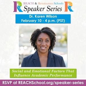 Dr. Karen Wilson - February 10 at 4:00 PM
