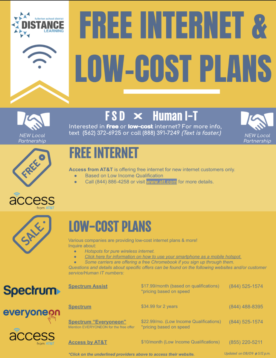 Low Cost Internet Flyer
