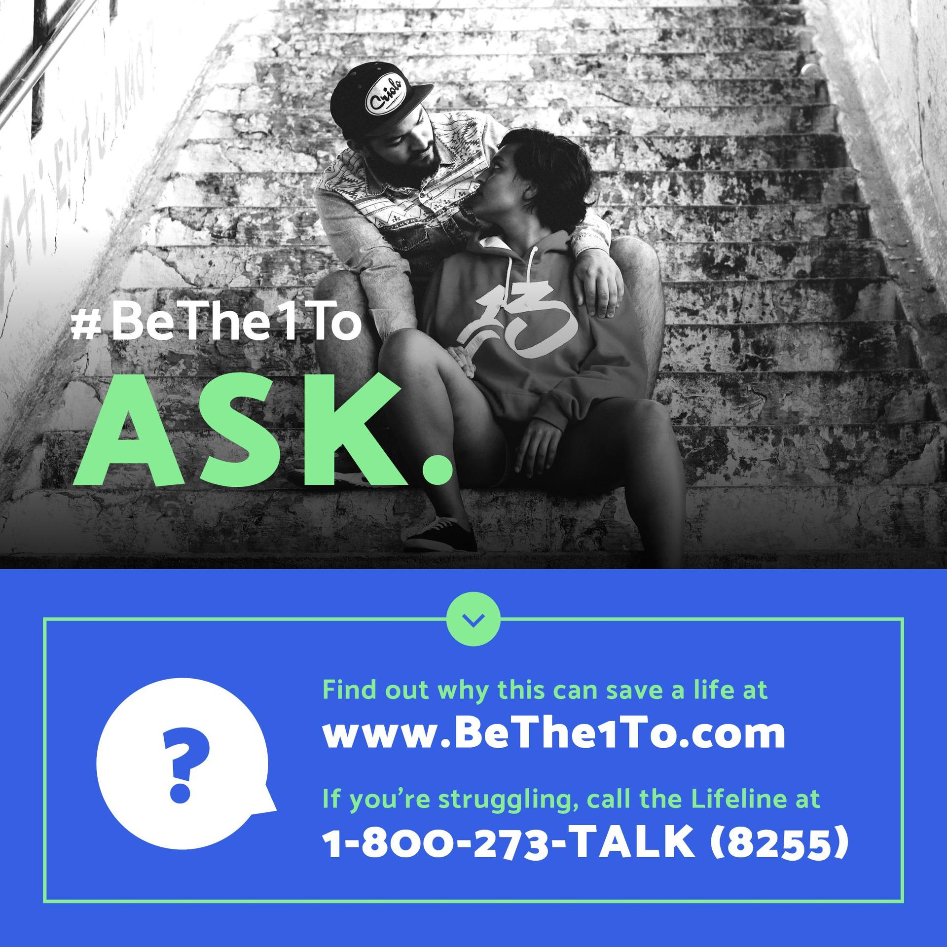 Be the one to ask