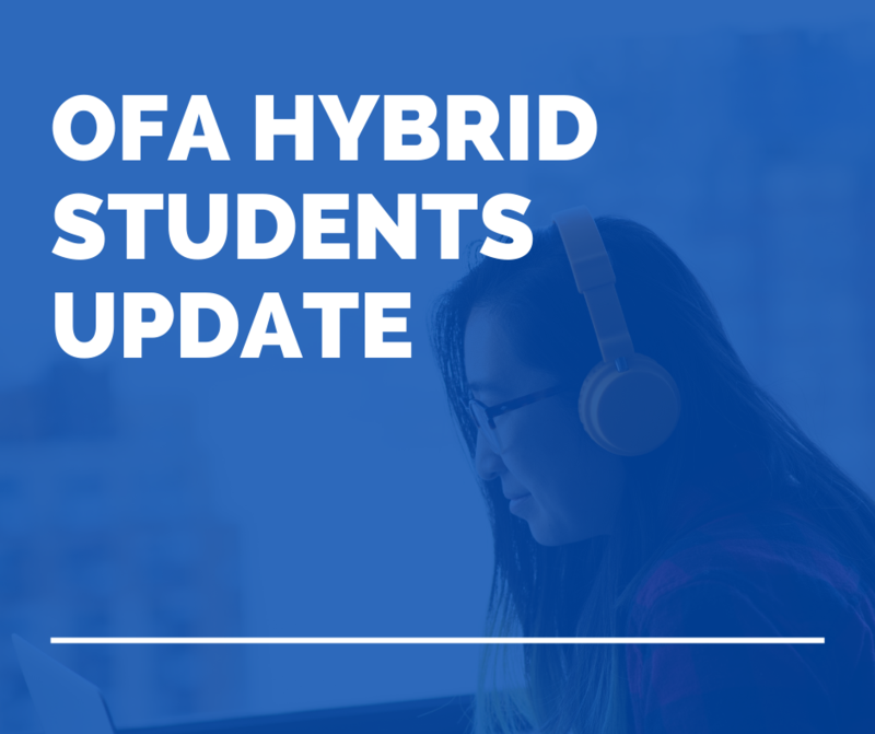 OFA Hybrid Students Update Featured Photo