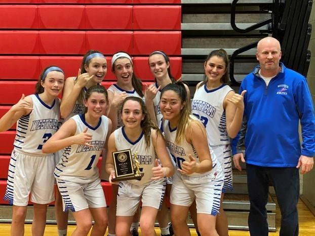Girls JV Basketball win UCIAC Championship!