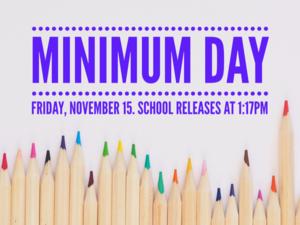Minimum Day Flyer