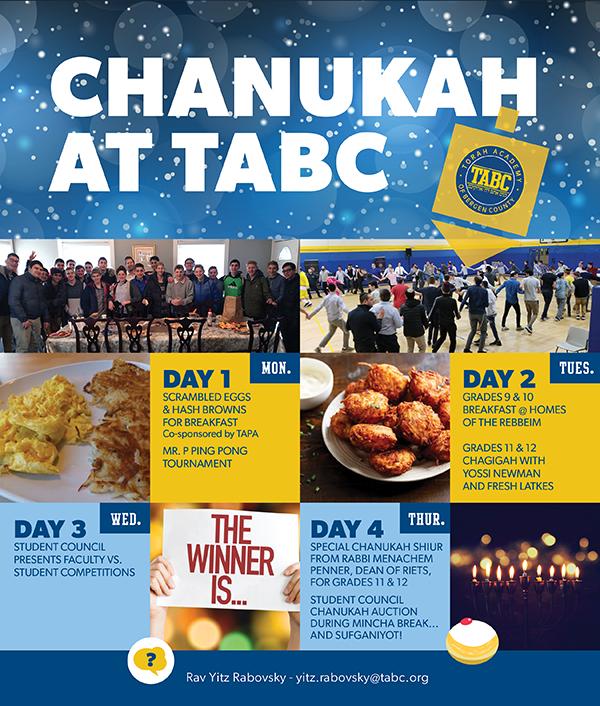 Chanukah at TABC Thumbnail Image