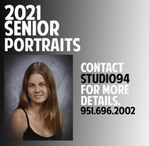 2021 Senior Yearbook Portrait