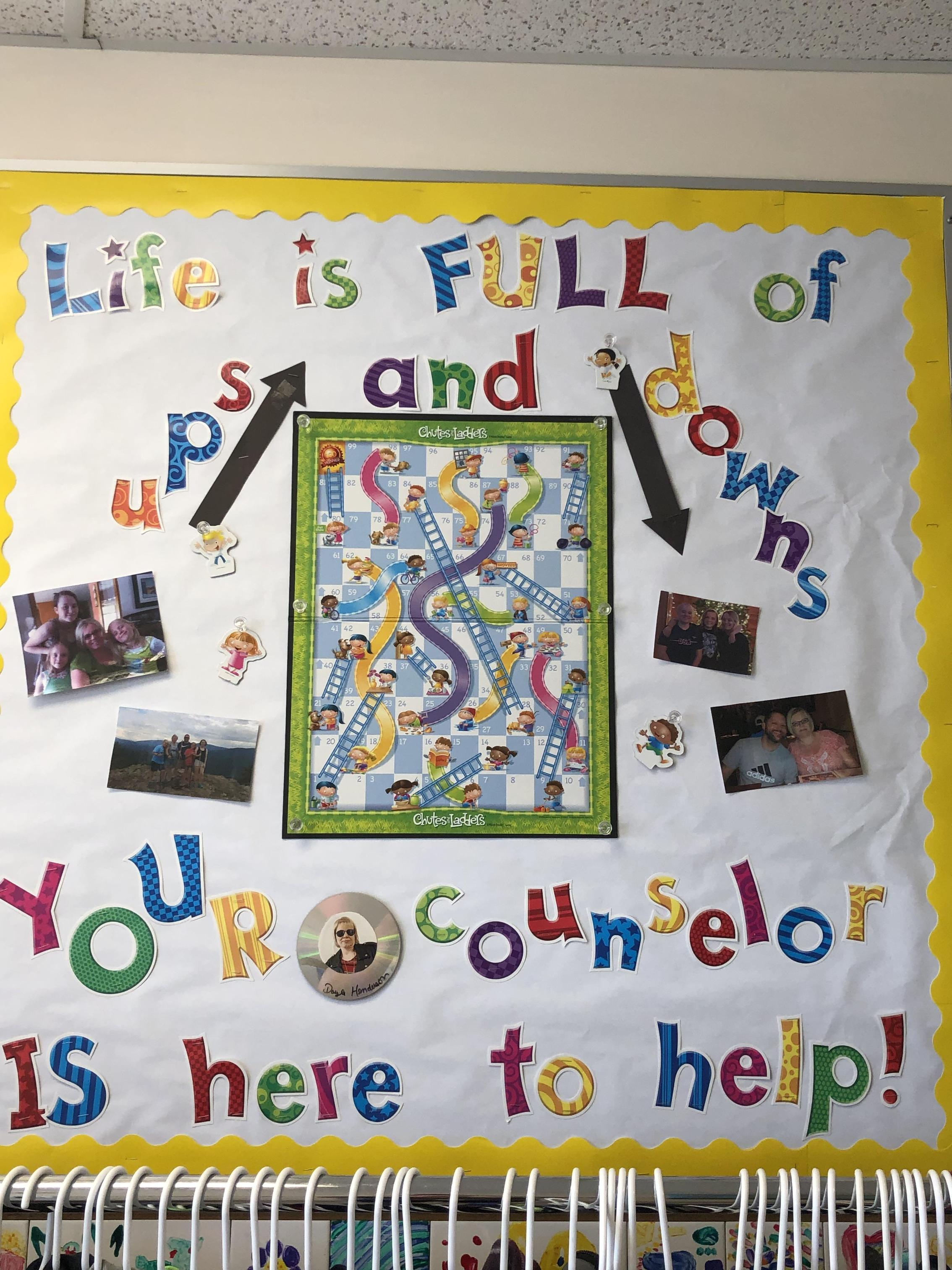 Counselor Bulletin Board 2018-2019
