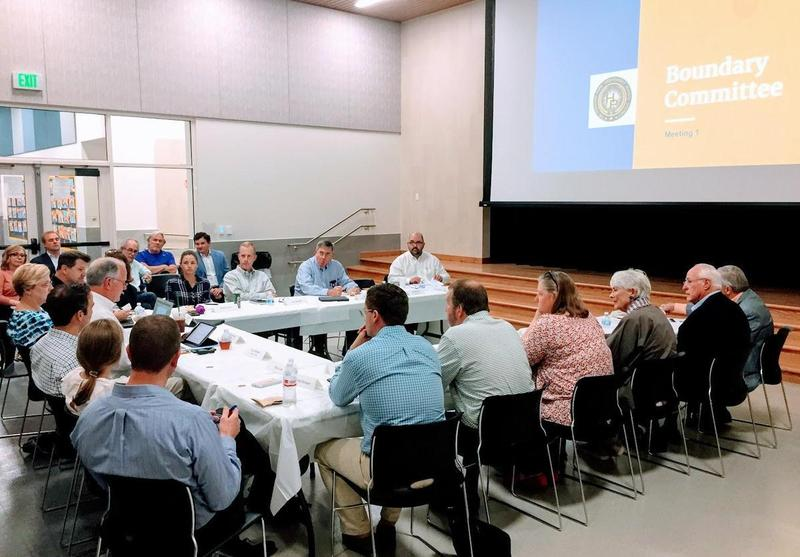 Boundary Rezoning Committee assembles for first meeting Featured Photo