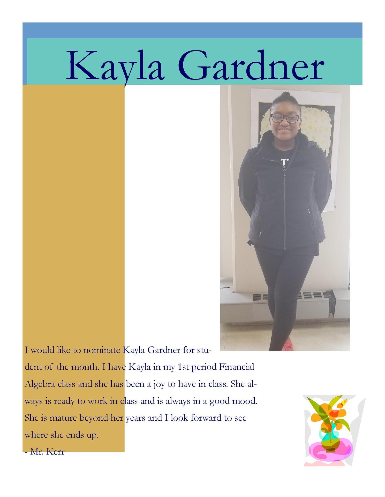 Image of Kayla Gardner