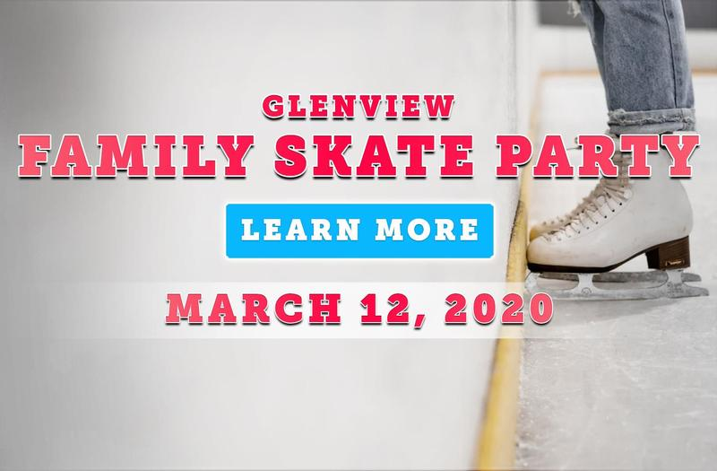 Glenview Family Skate Party at Holiday Skate Center on March 12 at 6:30 PM