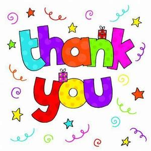 clipart of words Thank You