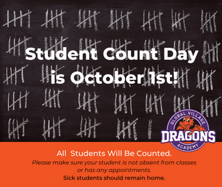 Student count day is October 1
