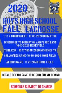 CAH Boys LAX Tournament Info Featured Photo