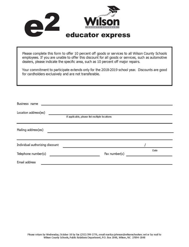 educator express form