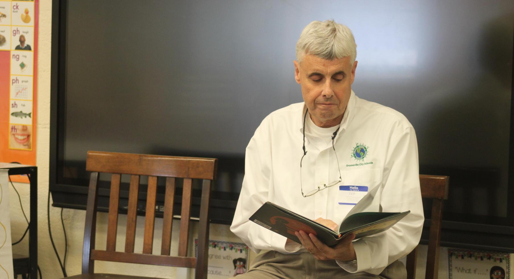 Read Across America  School Board Member