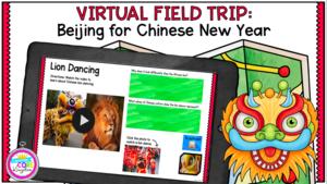 Virtual field trip lion dancing