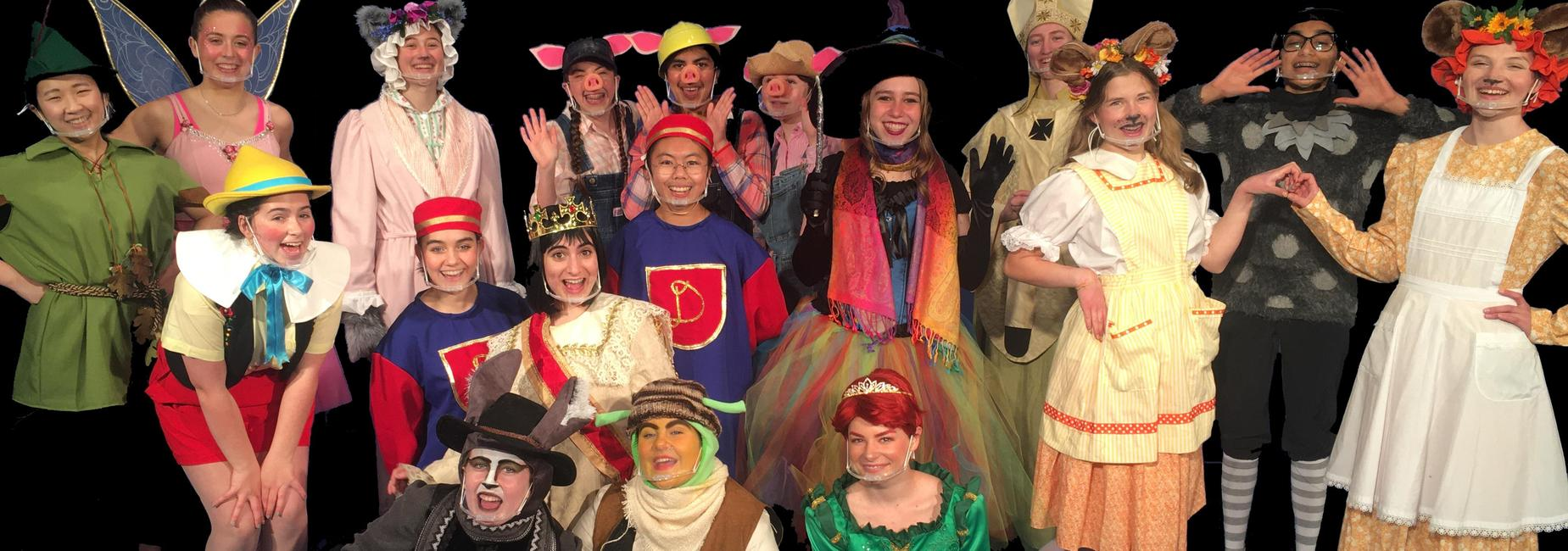 Photo of Wesmtont's cast for SHREK The Musical