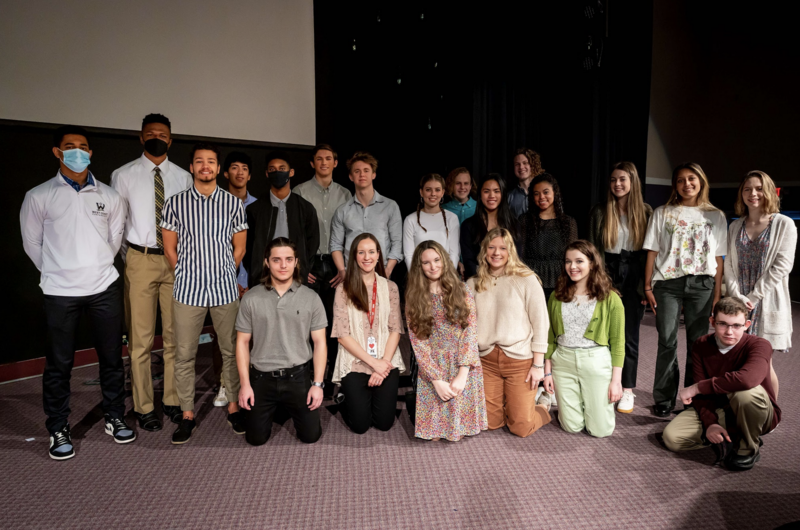 National Honors Society 2021 Inductee Ceremony Featured Photo