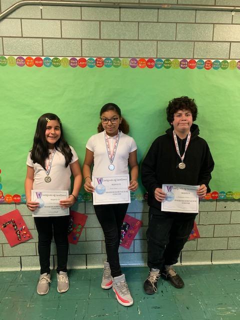 2nd Place Winners - Grades 5-8