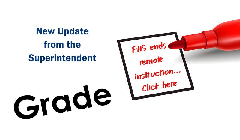 FHS ends remote/asynchronous instruction starting November 2, 2020 Featured Photo