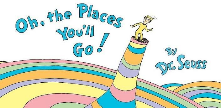 Oh the Places You'll Go Dr. Seuss Clipart