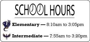 SCHOOL HOURS 2019-2020 Featured Photo