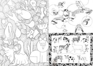 Mars Area High School Coloring Pages