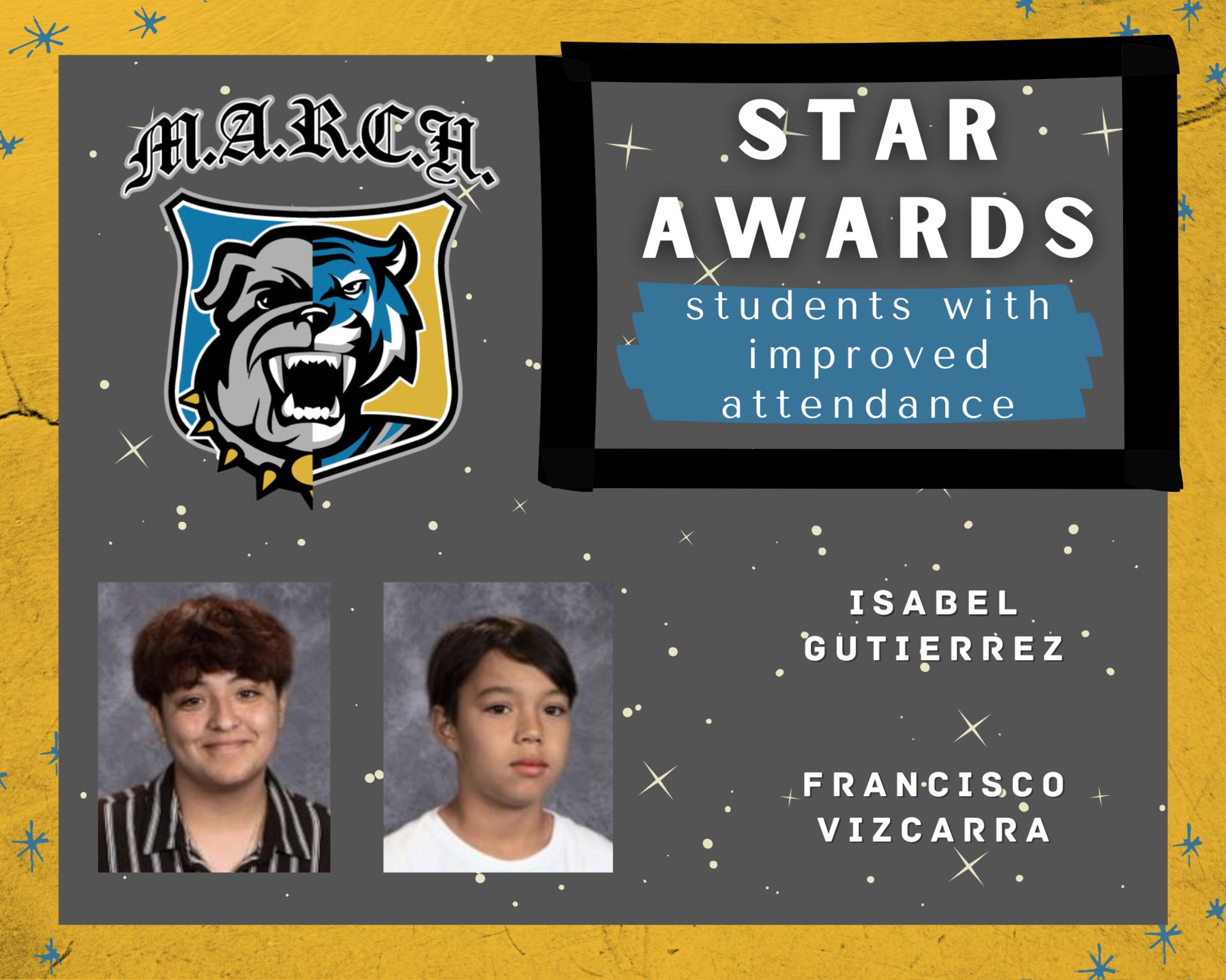 Team MARCH: STAR Awards-Week 4