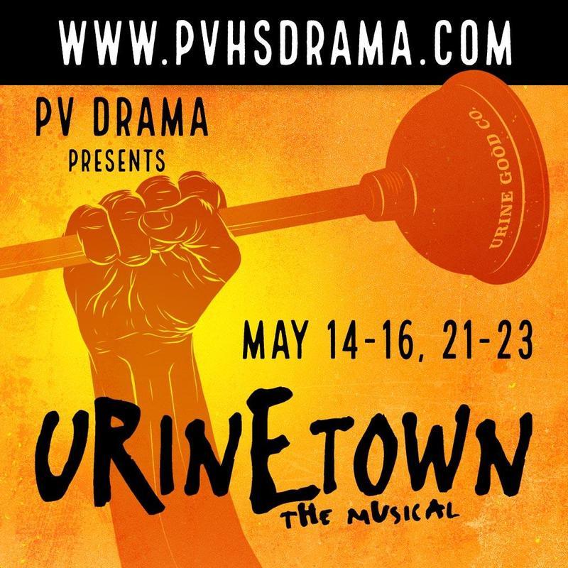 PVHS Drama Presents Urinetown | May 14-16 and 21-23 Thumbnail Image