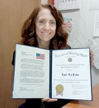 Yankton VFW Honors Beadle Elementary School Teacher Thumbnail Image
