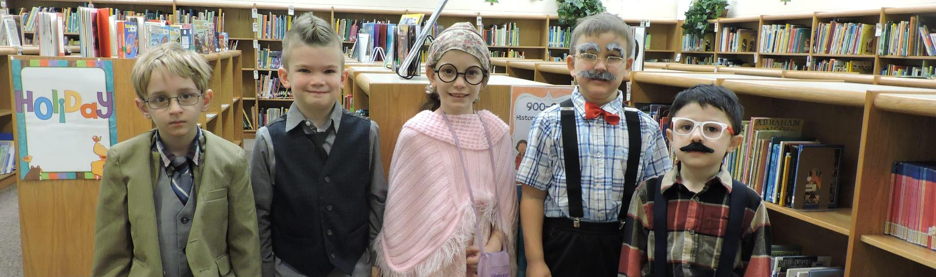 Students in Miss Biddle's classroom enjoyed the 100th Day of School!