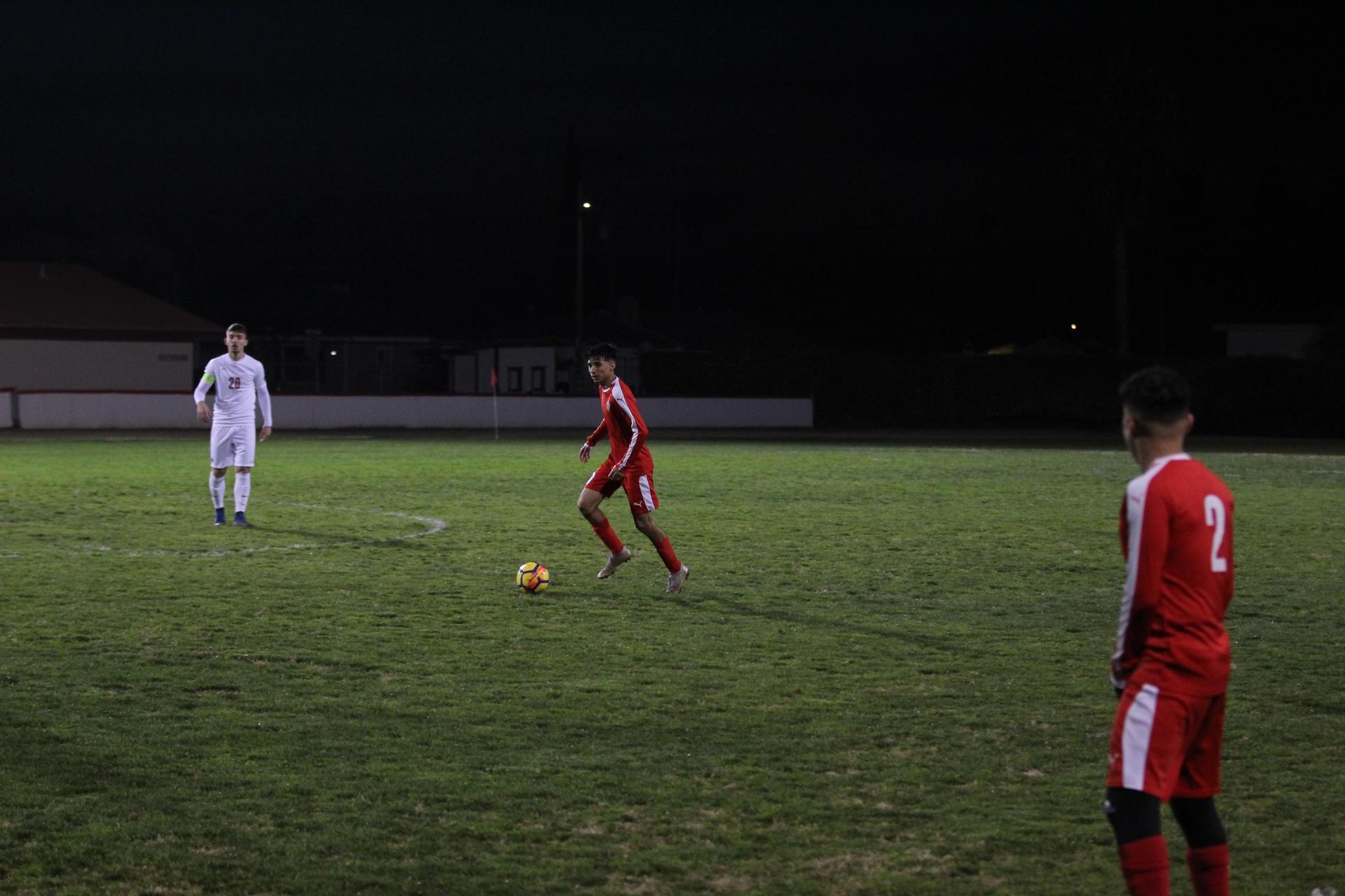 Boys Playing Soccer