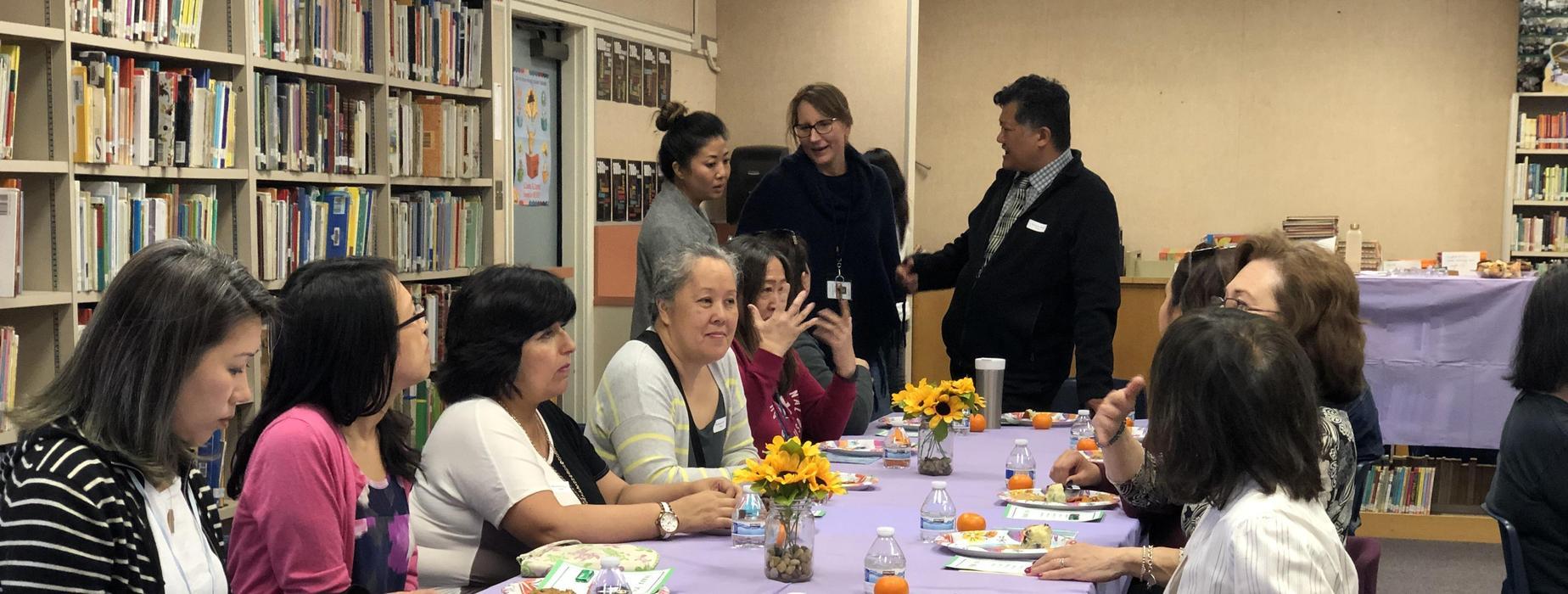 Marguerita staff lunch