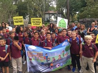 WALK YOUR CHILD TO SCHOOL DAY, THURSDAY,  SEPTEMBER 12, 2019 Featured Photo
